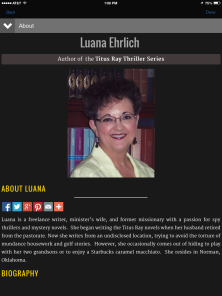 Luana Ehrlich Author Website